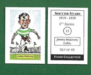 Glasgow Celtic Jimmy McGrory Scotland 13 (FC)
